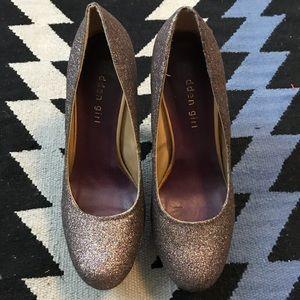 Madden Girl - sparkly platform heels